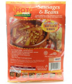 Action Pack Self Heating Meal Kit Sausages & Beans