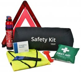 Car Safety Kit with Fire Extinguisher