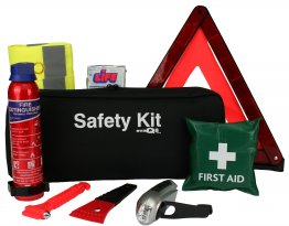 Advanced Car Safety Kit Extinguisher and Torch