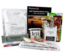 Ration-X Self Heating Ration Pack Menu A