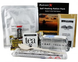 Ration-X Self Heating Ration Pack Menu C - Vegan