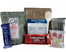 Day Ration Food Pack 2100 Kcal Menu 1