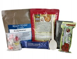 Day Ration Food Pack 2100 Kcal Menu 2