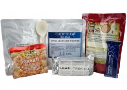 Day Ration Food Pack 2100 Kcal Menu 3 Vegetarian
