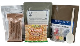 Day Ration Food Pack 2100 Kcal Menu 4