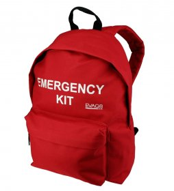 'Emergency Kit' Backpack With Photo-Luminescent Text