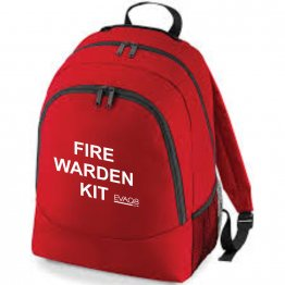 'Fire Warden Kit' Backpack Empty