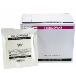 Sterile Non Woven Swabs Pack of 25