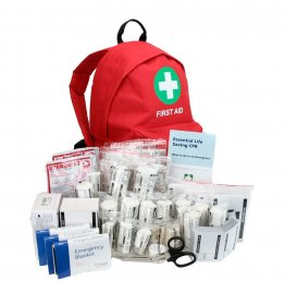 First Aid Backpack for Schools with BS8599-1 Contents