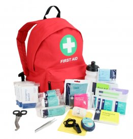 Outdoor First Aid Kit In Compact Rucksack