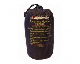 Adventure Travel Poncho - Ripstop Nylon with Stuff Sac