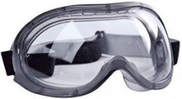 JSP Caspian Safety Goggles To EN 166.1.B.3.4.9