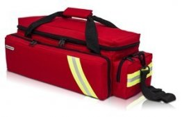 Oxygen Cylinder Bag Padded With Compartments Red