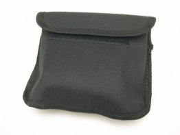 Belt Pouch Black Nylon