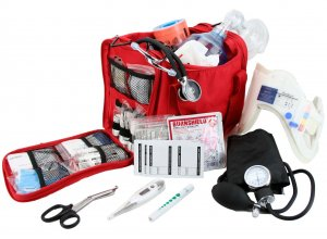 Compact Paramedic First Aid Kit Fully Stocked