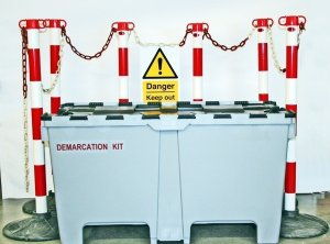 Emergency Demarcation Kit in 200l Storage Box