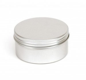 Round Survival Kit Tin Screw Top
