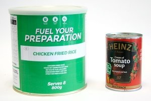 1 Month Survival Food Kit Mixed 6 Tins Freeze Dried