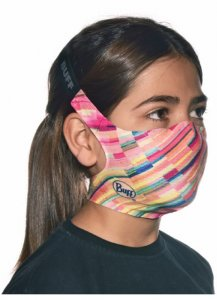 Buff Reusable Face Mask Replaceable Filter Kids