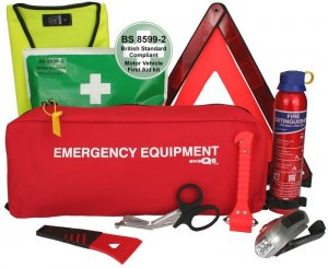 Advanced Car Safety Pack With BS8599-2 First Aid Kit