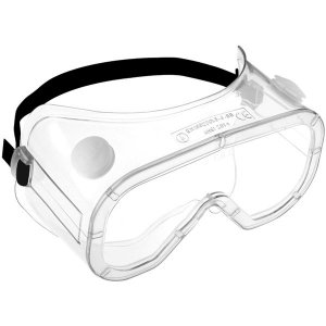 Protective In-Direct Vent Goggles To EN 166.1.B.3.4 Liquid + Dust