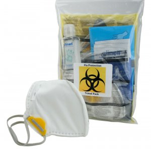 Travel Protection Pack With Masks
