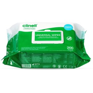 Clinell Universal Disinfection Wipes 200 Wipes