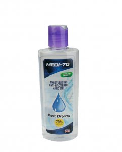 Hand Sanitiser Gel 70% Alcohol 200ml