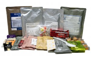 24 Hour Ration Pack Menu 4 Vegan 4000 kcal