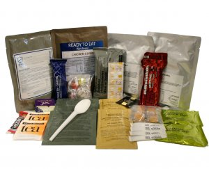 24 Hour Ration Pack Menu 2 4000 kcal