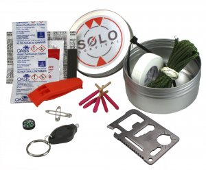 SOLO Outdoor Survival Kit Tin