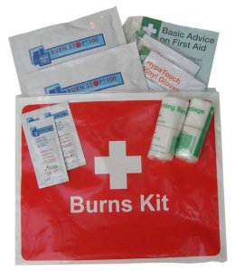 Compact Burns Kit for Emergency Burn Care