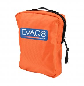 Personal Evacuation Pack in Orange Pouch