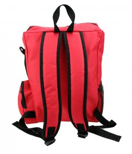 'First Aid' Rucksack Red