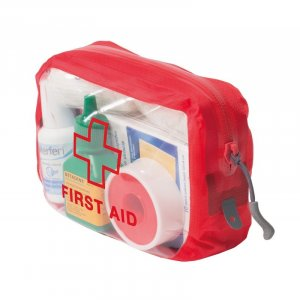 clear cube first aid pouch