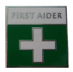 First Aider Identification Lapel Pin