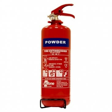 Fire Extinguisher 2kg ABC Dry Powder For Vans