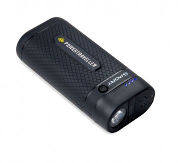 Powertraveller Compact 6700mAh Power Pack with Torch