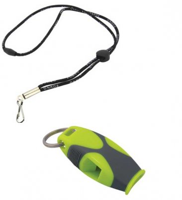 Fox 40 Sharx Safety Whistle With Break-Away Lanyard 120 db