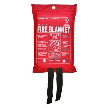 Fire Blanket in Soft PVC Pouch 120cm x 120cm