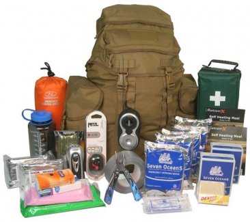 Deluxe Two-Person 72-Hour Emergency Kit Go Bag