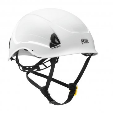 Petzl Alveo Best Helmet White Lightweight for work at height and rescue