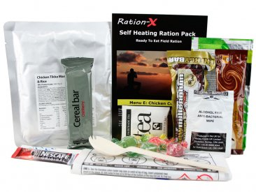 Ration-X Self Heating Ration Pack Menu E