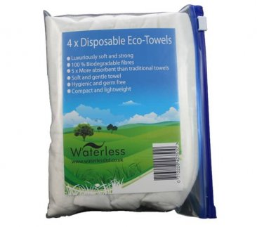 Disposable Eco Towel 4-Pack 40 x 80cm