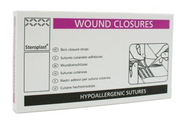 Wound Closure Strips 6mm x 75mm Pack of 30 Sutures